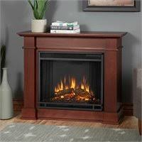 Indoor Electric Fireplace Real Flame Maxwell Indoor Slim Electric Fireplace In Black Wash