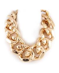 big chain necklace images Big gold chain necklace statement jewelry jpg