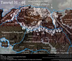 Map Of Nirn Image Tamrielcompositemapbyxomm Jpg Elder Scrolls Fandom