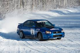 subaru snow learning to drive a subaru wrx sti rally car in the snow