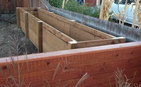 yard transformation part 4 u2013 building a large planter box large