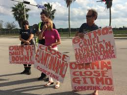 protesters march on doral u0027s southern command to demand gitmo u0027s