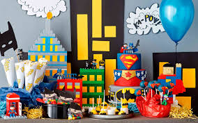 Superhero Home Decor Interior Design Creative Superhero Theme Party Decorations