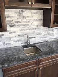 The  Best Stacked Stone Backsplash Ideas On Pinterest Stone - Layered stone backsplash