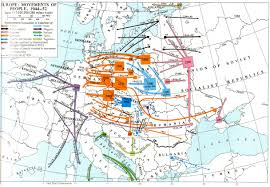 Map Of Europe 1945 by Poland World War Ii