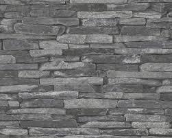 Ideen Mit Steinen Graue Wand Und Stein Fernen Auf Moderne Deko Ideen Mit Steine