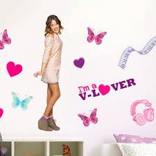 disney violetta love giant stickers great kidsbedrooms the home disney violetta love giant stickers