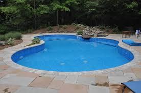 Pools For Backyards by Swimming Pool Installation Lake Katrine Highland Ny