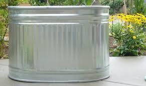 bathtubs amazing cool bathtub 15 galvanized water trough plater