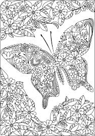 coloring page of butterfly wapku me
