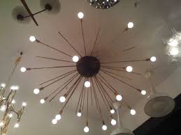 Sputnik Ceiling Light Brilliant Grand Sputnik Flush Ceiling Chandelier At 1stdibs