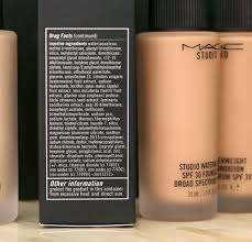 mac studio waterweight spf 30 foundation makeup and beauty blog