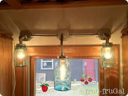 mason jar light mason jar bathroom mason jar light fixture and