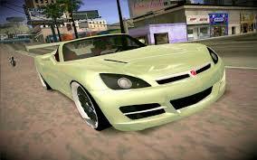 saturn sky coupe saturn sky roadster gta san andreas car mod youtube