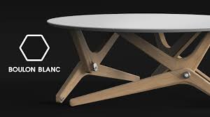 Grande Table Haute by Boulon Blanc The Next Generation Of Transformable Tables By