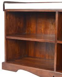 Shoe Shelf Bench by Dark Takhat Hall Bench With Shoe Storage 100 Solid Sheesham Wood