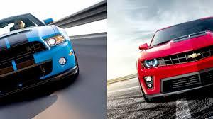 2014 camaro vs 2014 mustang 2014 ford mustang shelby gt500 vs camaro zl1