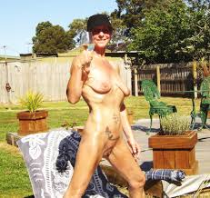 mature mature backyard