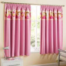 Toddler Blackout Curtains 54 Pink Curtains Pink Floral Flocking Crafts Curtains