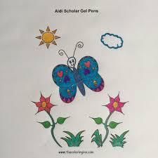 doodle name aldi aldi scholar gel pens the coloring inn