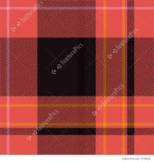 illustration of tartan plaid