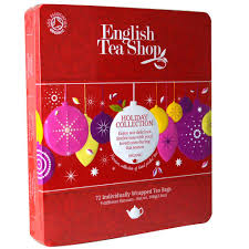 tea shop collection tin 72 individually