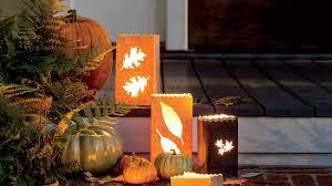 paper bag halloween luminaries how to make paper bag fall luminaries southern living