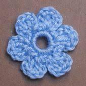 Tiny Flower Crochet Pattern - easy crochet flower patterns
