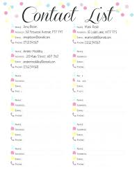 printable templates baby shower lovely baby shower invitation list template or phone list template