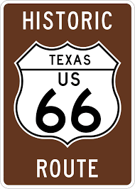 Original Route 66 Map by Route 66 Thc Texas Gov Texas Historical Commission