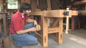 Popular Woodworking Roubo Bench Plans by Build A Hybrid Roubo Workbench Finewoodworking