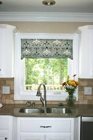 kitchen valance ideas breathtaking kitchen valance ideas awesome bay window kitchen