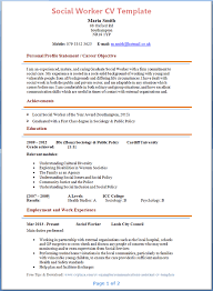 Childcare Worker Resume Social Work Resume Example Resume Example And Free Resume Maker