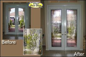 Exterior Glass Door Inserts Adding Glass To Your Existing Front Door Adds Value And Style