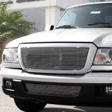 front grill ford ranger 2006 ford ranger custom grilles billet mesh led chrome black