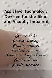 Assistive Technology For Blindness And Low Vision Assistive Technology Devices For The Blind And Visually Impaired