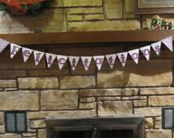 Congratulations Engagement Banner Purple Banner Etsy