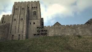 Historical Castles by Corfe Castle 3d Historical Reconstruction Youtube