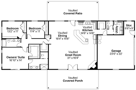 House Plans With Garage In Back by Ranch House Plan Ottawa 30 601 Floor Plan Floor Plans For Ranch