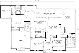 house plans with 3 master suites floor plan 2833 house plans plan plan european