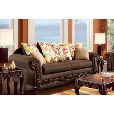 monia transitional style sofa furniture store los angeles