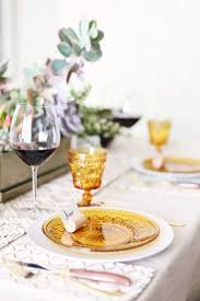 casual dinner casual dinner with gold tablescape celebrations at