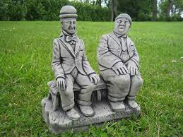 laurel hardy garden ornament co uk kitchen home