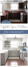kitchen makeover on a budget amazing what a little paint can do