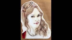 kricky cakes decoration hürrem meryem uzerli portrait on fondant