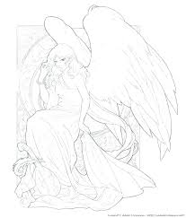 coloring page angel visits joseph coloring page angel pge ngel ngels ngel pge ngel pge downlod pge