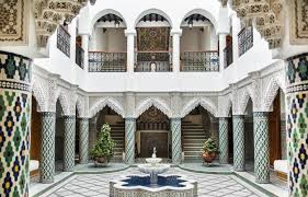 moroccan riad floor plan moroccan riad for sale in tangier morocco the real estate