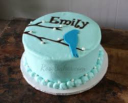 blue bird cake easy chocolate chip cake recipe rose bakes