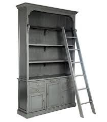 Library Bookcases With Ladder by Bookcase With Ladder U2013 Downeast