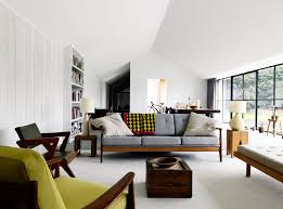 charming mid century modern interior design small room new in